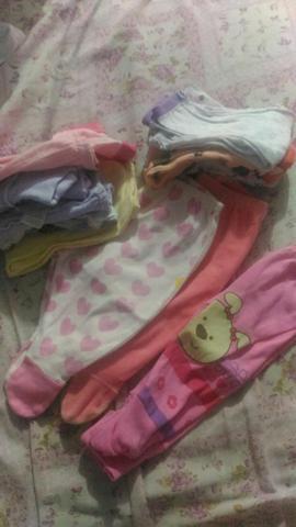 Lote de roupa de bebê. menina 0 a 3 meses e 0 a 6 meses