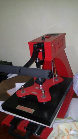 f5557e73c1 Maquina de estampar camisas + impressora + tinta - novos