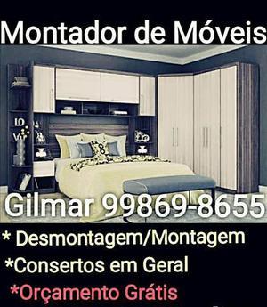 Montador profissional f.99869-8655