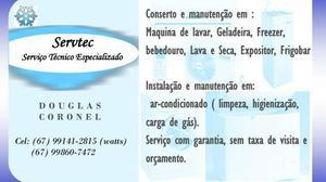 Servtec serviço técnico especializado