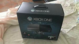 Xbox one edição limitada halo 5 1tb