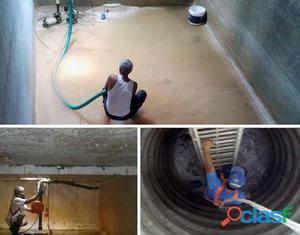 Serviços de hidraúlica de caixa de água e reservatório