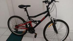 Bicicleta caloi aro 24 - modelo shok