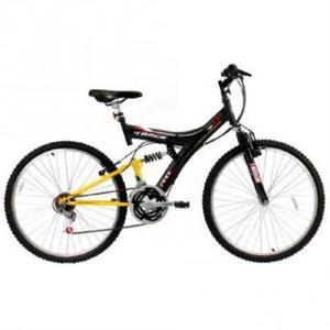 Bicicleta track bikes tb-100 xs, preta, aro 26, 18 marchas,