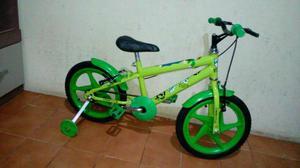 Bicicletas aro 16 semi novas