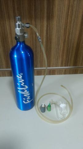 Cilindro de co2 para aquários plantados