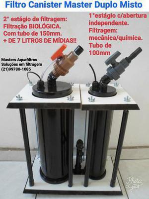 Filtro canister master misto 2700l/h
