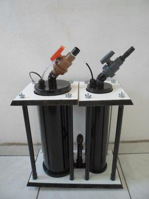 Filtro canister master misto duplo 1500l/h