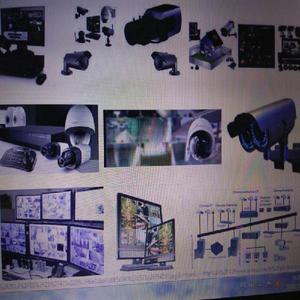 Inst. de câmeras de segurança cftv, cabeamento lógico