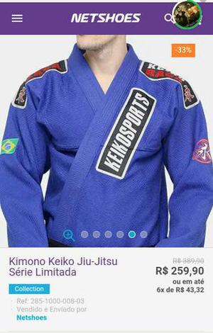 Kimono keiko a2 semi novo