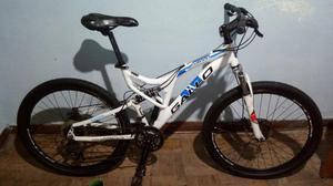 Vendo/troco bicicleta gallo arrow full alum. 18 aro 26