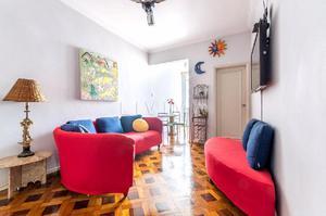 Apartamento 2 quartos para locação em ipanema,