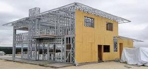 Construcao de casas steel frame