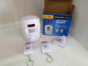 Alarme sensor sirene residencial e comércios,
