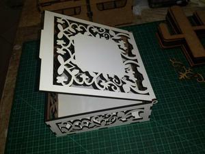 Caixa decorada mdf