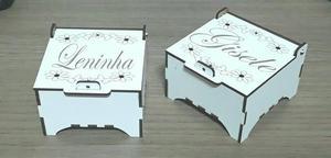 Caixas porta joia personalizada