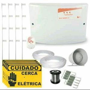 Cerca eletrica gcp com alarme instalado contato whats