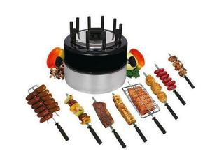 Churrasqueira portátil para fogão/fogareiro grillex na cor