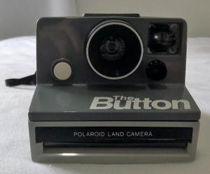 Câmera fotográfica polaroid button importada eua - 1980