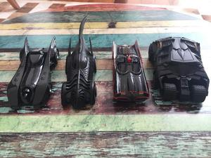 Coleção carrinhos batman