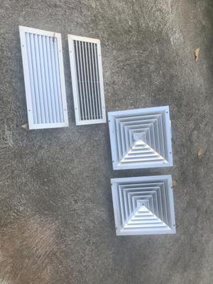 Difusor saída de ar teto exaustor