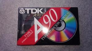 Fita k7 tdk a90