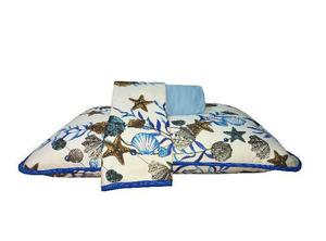 Jogo de cama casal - malha da serra gaúcha