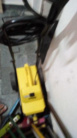Lava jato karcher hd 585 alta pressão profissional