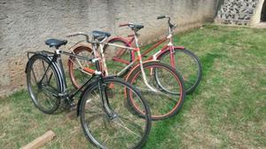 Lote de bicicletas antigas
