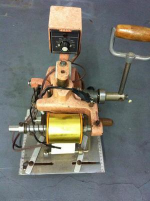 Maquina para impressão em grardanapos e tecidos