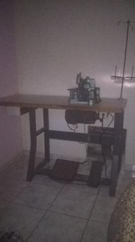 Maquina de costura overlock semi industrial overloque