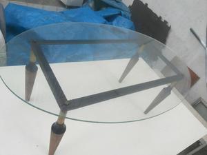 Mesa de centro antigüidade - pés palito anos 60