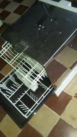 Máquina de lavar louça enxuga