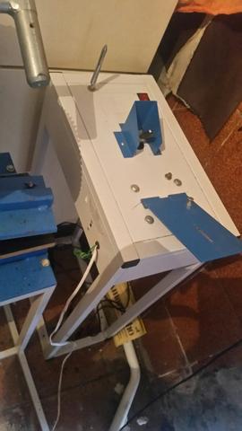 Máquina de fabricação de chinelo compacta print top