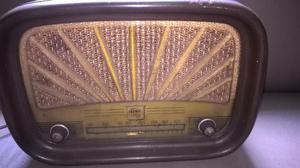 Rádio semp antigo valvulado década 50, mod ac 120