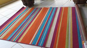 Tapete colorido para quarto infantil 160x 225cm