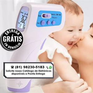 Termômetro laser digital infravermelho temperatura do corpo