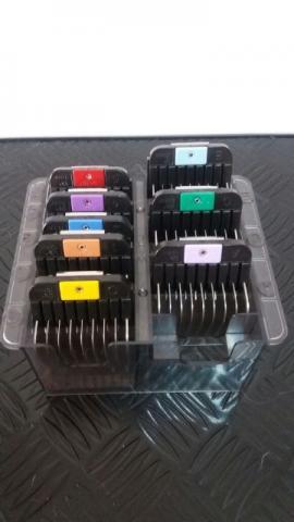 Adaptadores wahl - aço com 8 peças