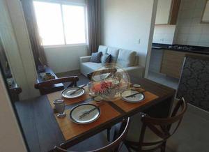 Apartamento residencial para locação, novo mundo,