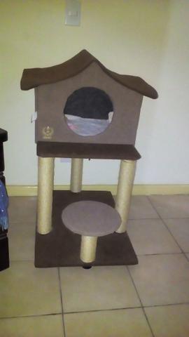 Arranhador casa para gatos
