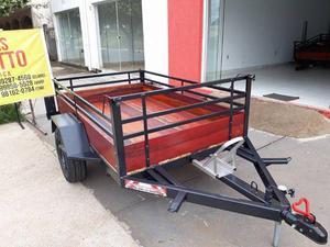 Carretinha carreta reboque a pronta entrega carretinhas