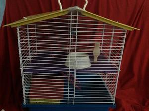 Gaiola de hamster completa 3 andares