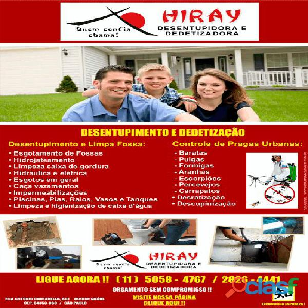 CAÇA VAZAMENTO HIRAY 5058 47 67 VILA CORDEIRO