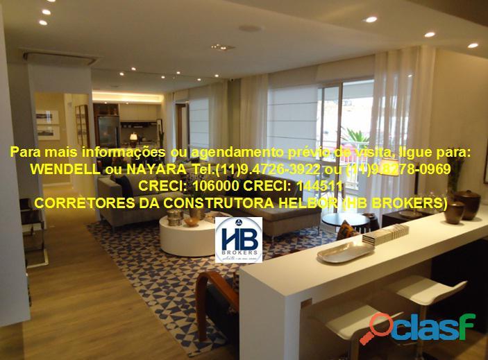 Apartamento pronto 118 m 3 suítes 2 vagas Ideale Torre única 17