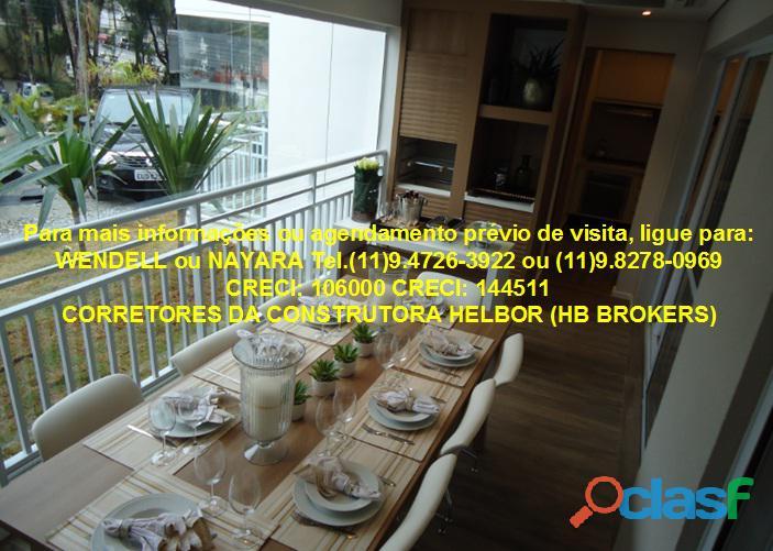 Apartamento pronto 118 m 3 suítes 2 vagas Ideale Torre única 9