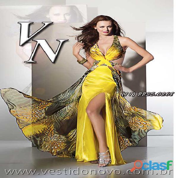 Vestido amarelo de alta qualidade você encontra na casa do vestido aclimação zona sul