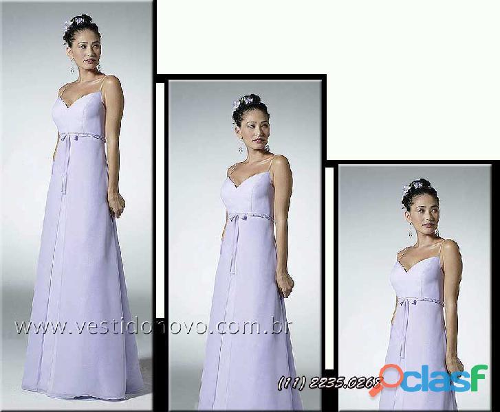 Vestido madrinha casamento na cor lilas, aclimação, vila mariana