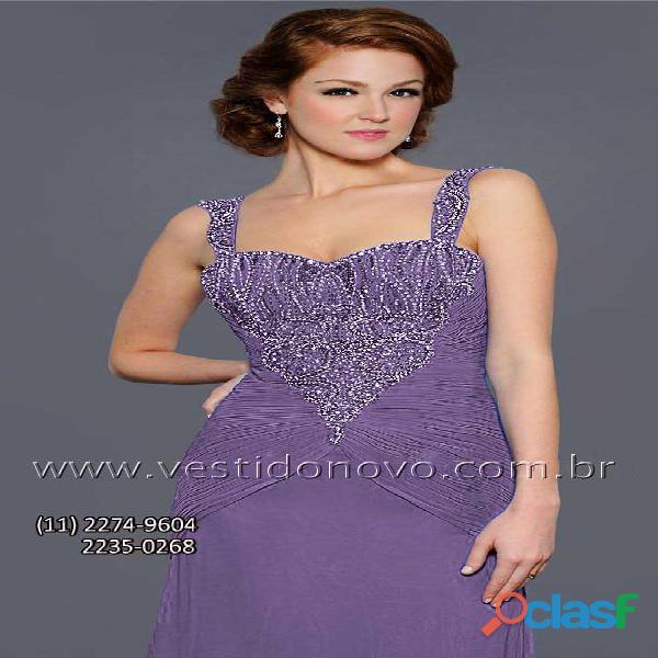 Vestido mãe do noivo na cor lilas aclimação cambuci, zona sul