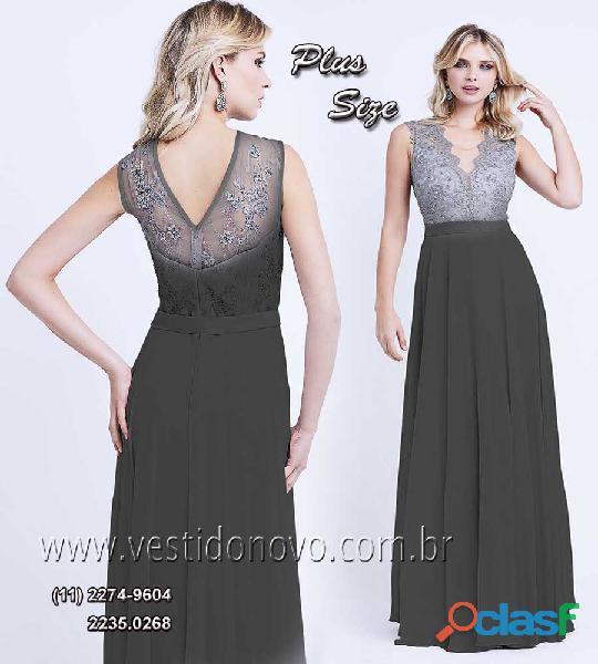 Vestido preto plus size aclimação / vila mariana, zona sul