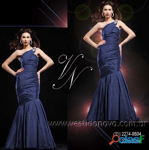 Vestido sereia mãe de noivo, azul petroleo aclimação / vila mariana zona sul